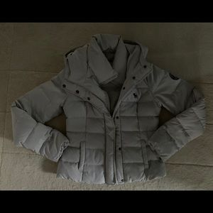 Abercrombie and Fitch down puffer jacket with hood
